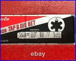 Snap-on Big Sizes 25 Piece SAE Tap & Die Set TD9902A
