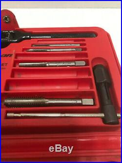 Snap-on Sae Tap And Die Set Model Td-2425 Fractional Professional Missing 4 Taps