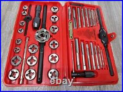 Snap-on TDM117A 41-piece 3 to 12 mm NF / NC METRIC Tap Die Set MISSING 1 PCS