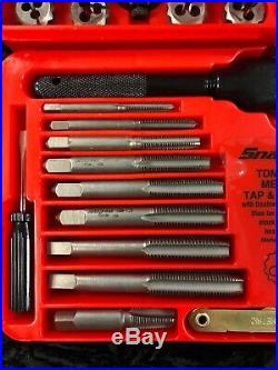 Snap-on TDM-117A 41 Piece Tap And Die Set New In Box