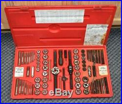 Snap-on TDTDM500 76 Piece Tap & Die Set Pre-owned Free Shipping