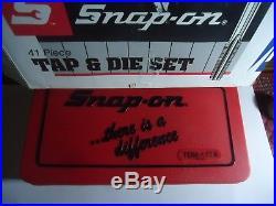 Snap-on Tap And Die 41 Piece Metric Set