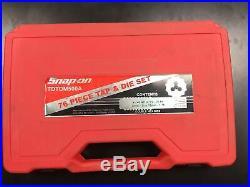 Snap-on Tdtdm500a Tap Die Set In Box