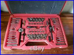 Snap-on Tools TDTDM500A 76 & 117 piece Master Deluxe Tap and Die COMPLETE Set