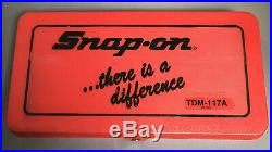 Snap-on Tools Tap And Die Set TDM-117A