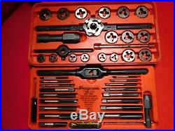 Snap-on Tools Tap And Die Set TDM-117A Free Shipping