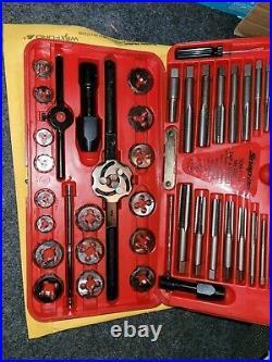 Snap-on Tools Tap & Die Set metric tdm-117a Complete