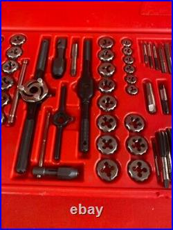 Snap-on Tools Tdtdm500a Tap & Die Tool Set 76pc Combo Double Hex (cp1072069)