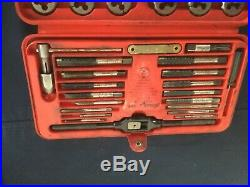 Snap on tap and die set 41pc TDM-177A in tray
