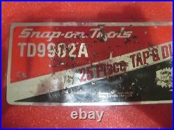 Snap-on tap and die set td9902a
