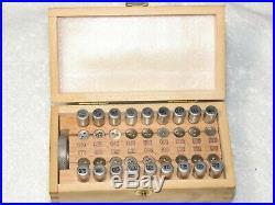 Swiss Watchmakers Tap & Die Set Swiss Made Watch Repair Tool
