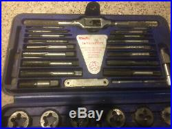 TD2425 Blue Point SAE Tap & Die Set Used & Ready To Ship For Free
