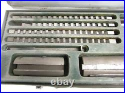 THREADWELL TAP & DIE CO. LITTLE CHAMP KEYWAY BROACH SET, No. 20A