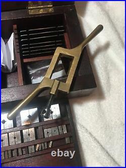 T Lehmann Watchmaker Clockmaker Tap And Die Set