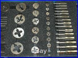 Tap And Die Set #4 Greenfield/trw Tap And Die Co. Hardly Used, Nice