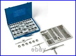 Tap and Die Set 110 pieces, imperial and metric see description for more 489009