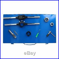 Tap and Die Set Thread Rethreading Set Tools Metric MM Large M6 to M24 45pc