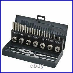 Thürmer Tools M3-M12 Thread Cutting HSS Tool Set Taps Dies and Tools 3 Pc's