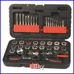 Toledo 321049 Tap & Die Ratchet Handle Set Sae 40 Pc Holders Automotive