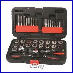 Toledo Tap & Die Ratchet Handle 40pc Set SAE Trade Quality Tools