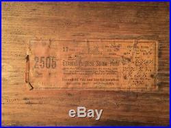 VINTAGE GREENFIELD TAP AND DIE SET withWOOD BOX (2505)