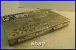 VTG Craftsman USA METRIC KROMEDGE 41 PC TAP & HEXAGON DIE SET 52095 USA