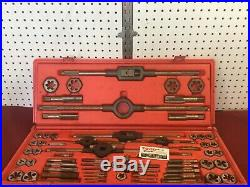 Vermont America Large SAE Tap and Die Set, complete 6/32-1 USA MADE