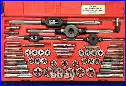 Vermont American 6039 58-Piece SAE Tap & Die Set 6/32 Thru 3/4 NC & NF USA