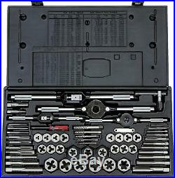 Vermont American High Carbon Steel 58 pc Pro Tap & Die Set USA Made 21739