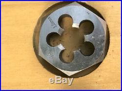 Vintage 25-pc Metric Tap And Die Set Mac Tool wood case never used threading kit