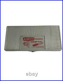 Vintage 39 Pc Craftsman Kromedge Tap & Adjustable Die Tool Set 9-5209 Great