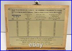Vintage Bergeon Watchmaker Tools No 30010 Screw Taps and Die Set