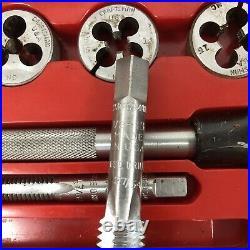 Vintage Craftsman Kromedge 9-5209 Tap & Adjustable Die Tool Set Made In USA