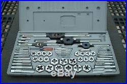 Vintage Craftsman Metric 59 Pc Kromedge Tap And Die Set Crown Logo Box 52096 USA