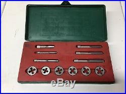 Vintage Craftsman Whitworth British Standard Tap and Die Set