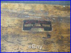 Vintage GREENFIELD No. 311 Little Giant Tap & Die Set in Double Tray Wood Case