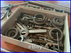 Vintage Greenfield/Craftsman Tap and Die Set/Machinists Large Lot
