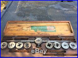 Vintage Greenfield Little Giant Tap And Die Set Screw Plate #310 Used