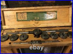 Vintage Greenfield Little Giant Tap and Die Set Rare Set