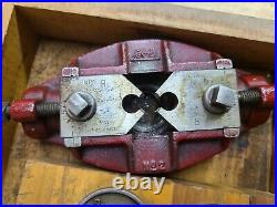 Vintage Greenfield Tools Large Tap and Die Set 28 Piece With Wood Case MADE IN USA