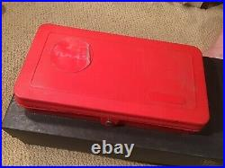 Vintage MAC TOOLS TAP & DIE SUPER SET 3606TS RED CARRYING CASE COMPLETE