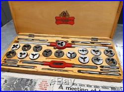 Vintage New Patience & Nicholson Tap & Die Set From 1972, Absolutely Beautiful