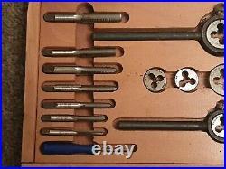 Vintage Presto Tap And Die Set Metric M6 M12 Taper And Bottoming