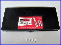 Vintage Sears Craftsman 28pc SAE Hexagon Tap & Die Set Kromedge 5200 Made in USA