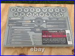Vintage Sears Craftsman 52372 41pc Tap & Hex Die Set Metric EUC A+++ Made in USA