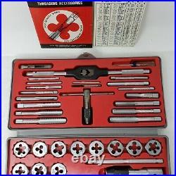 Vintage Sears Craftsman Kromedge 41 pc Tap & Hexagon Die Set 9 5201