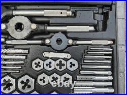 Vintage Sears Craftsman Kromedge 59 PC Tap Die Set 9-52151