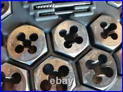 Vintage Sears Craftsman Tools USA 9-52096 Kromedge 59 PC Tap Die Set Metric