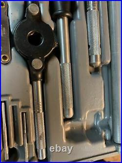Vintage Sears Craftsman Tools USA 9-52096 Kromedge 59 PC Tap Die Set Standard VM