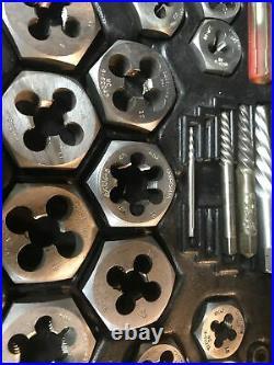 Vintage Sears Craftsman Tools USA 9-52151 Kromedge 59 PC Tap Die Set Standard VM